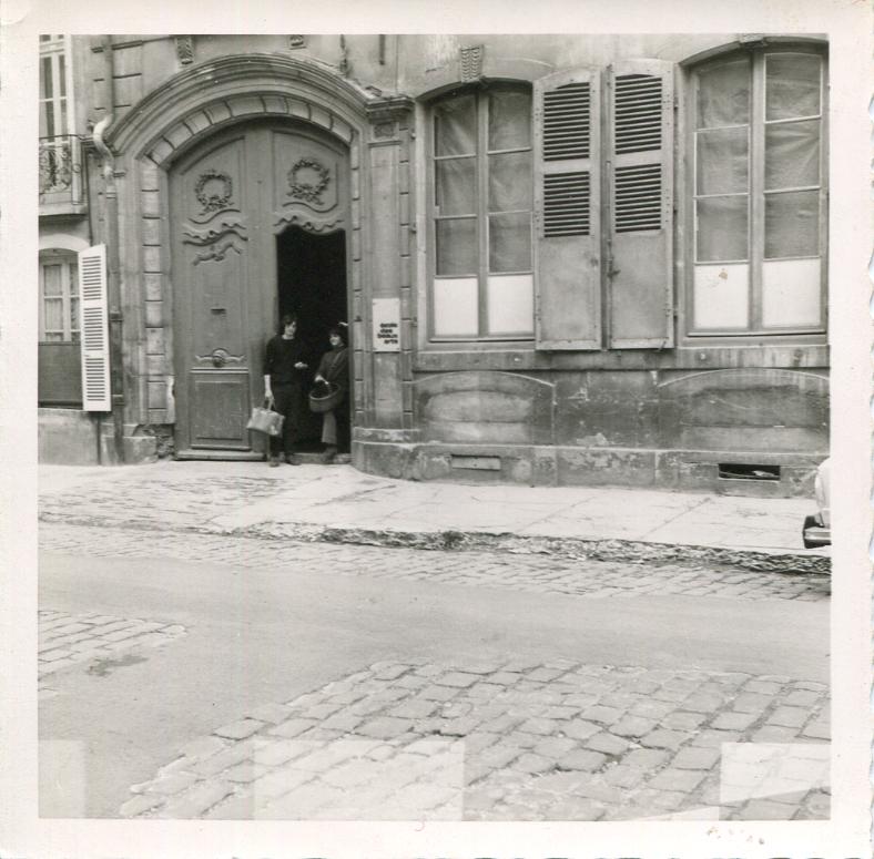 Ecole des Beaux Arts de beaune en 1973