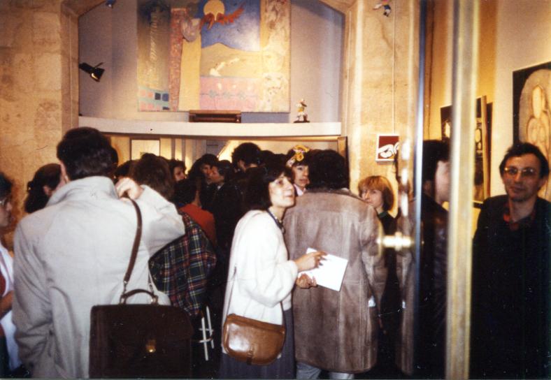 Galerie du Lion, Paris, mars 1986