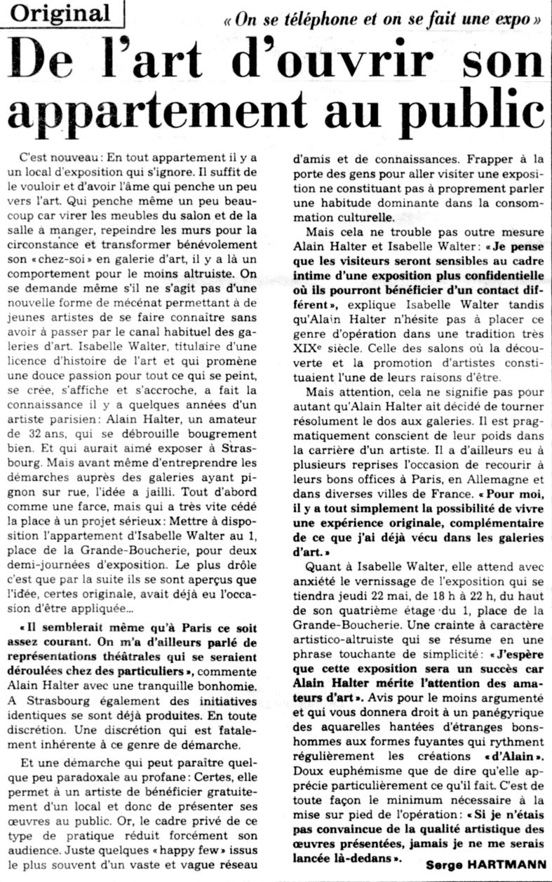 DNA, 20 mai 1986